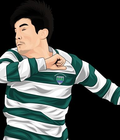 Jamesie McConigley of Sporting Ennistymon Football Club