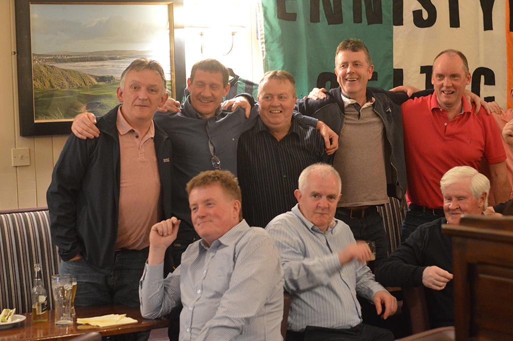 Ennistymon Celtic's Reunion: Group Photo