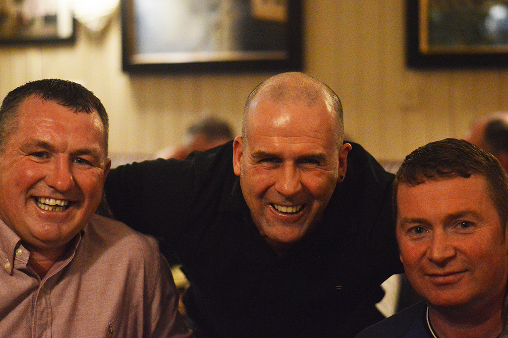 Ennistymon Celtic's Reunion: Pictured are from left to right are Sunshine, Rasher, Sean O'Brien.