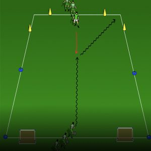 Get the Goal Practice vertical Gradient