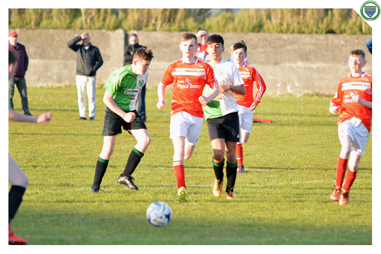 Ixim Hernandez plays a pass to Aaron Stackpoole in Sporting's 3-2 win against Newmarket Celtic.