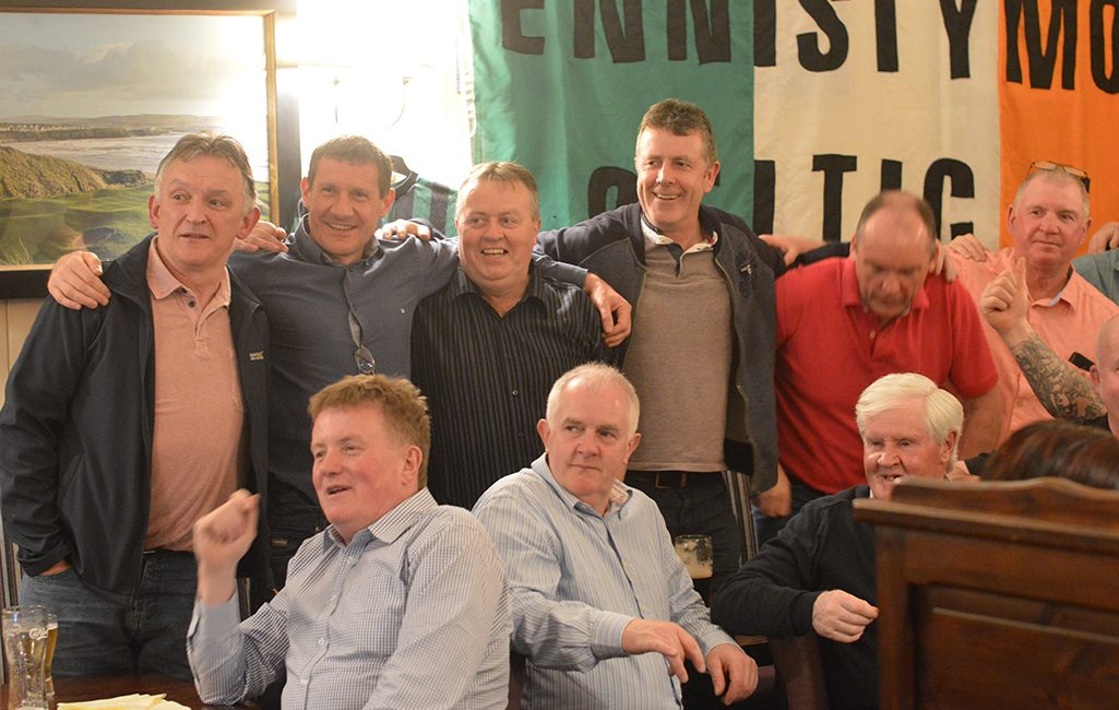 Ennistymon Celtic's Reunion: Group Photo