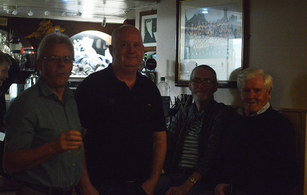 Ennistymon Celtic's Reunion: Pictured are from left to right are Tom Nestor, , Michael Garrihy, Billy Buckley.