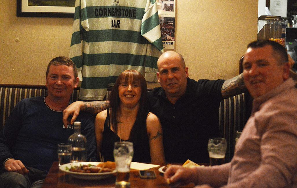 Ennistymon Celtic's Reunion: Pictured are from left to right are Sean O'Brien, , Rasher, Sunshine.