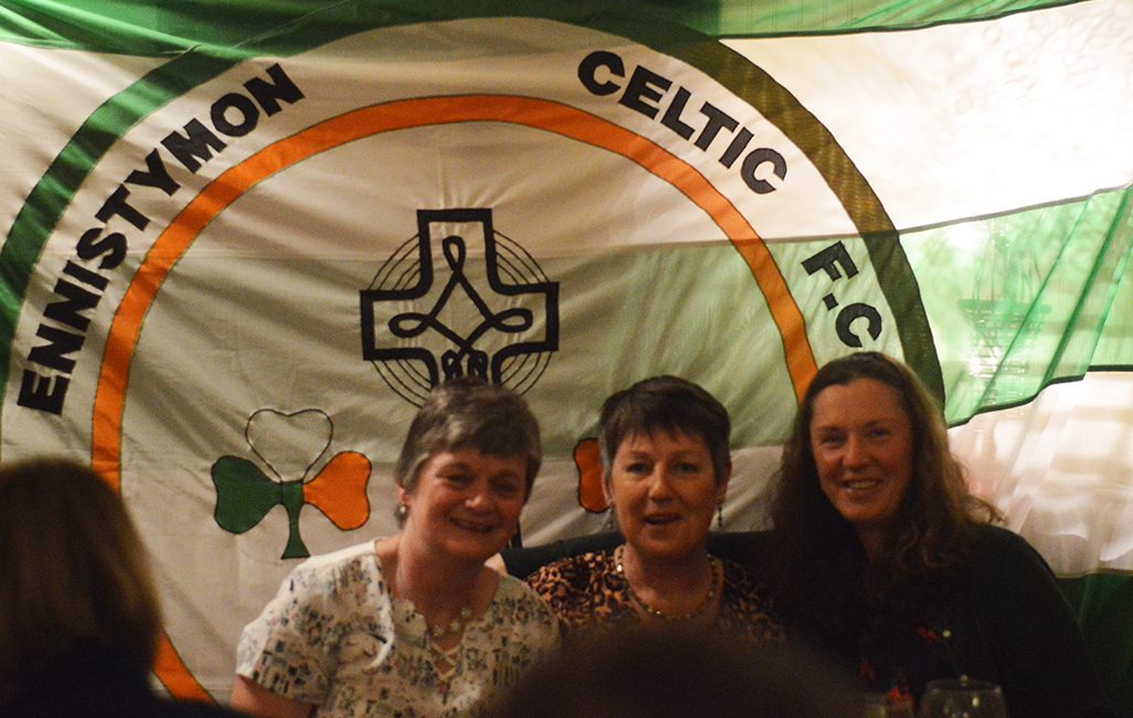 Ennistymon Celtic's Reunion: Pictured are from left to right are Ann Nestor, , Mary Leigh.