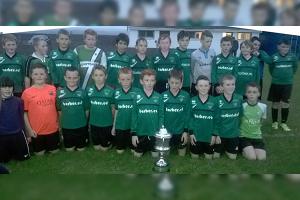 U12's League & Cup champions.