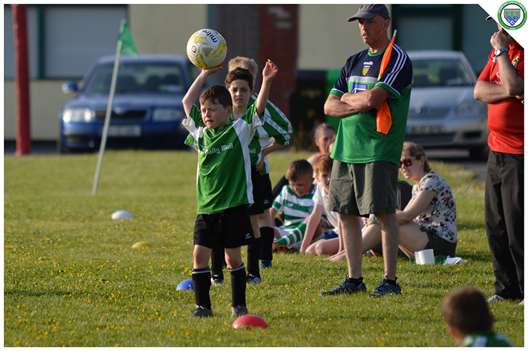 Sporting Ennistymon's U10s in action against Newmarket Celtic's U10s. Game played in C.B.S Ennistymon.