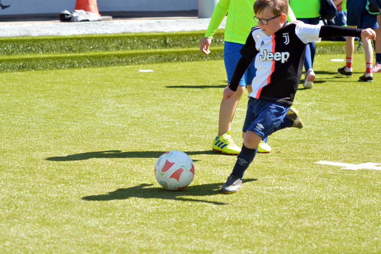 Sean O'Regan shoots during Sporting Ennistymon F.C FAI Summer Camp 2020