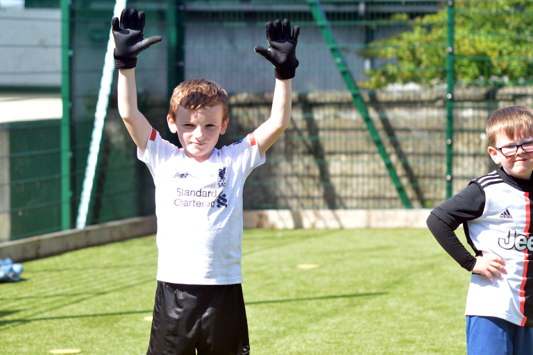 James O'Brien poses during Sporting Ennistymon F.C FAI Summer Camp 2020