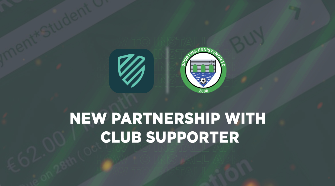 New Partnership with Club Supporter