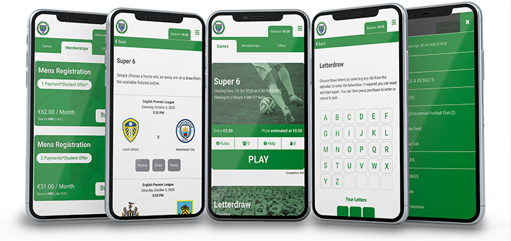 Phone Mockup How to Install Club Supporter