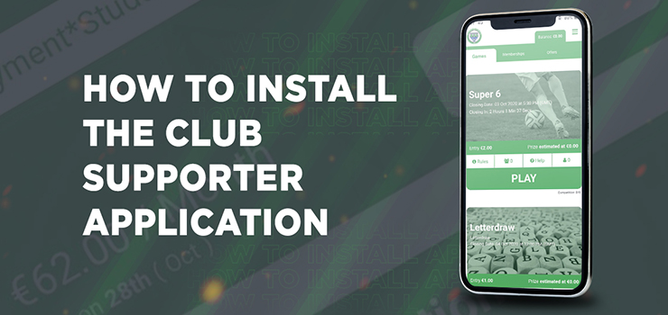 Club Supporter Application. How to Play